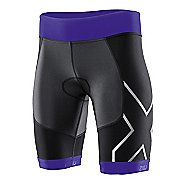 Womens 2XU G:2 Compression Tri Fitted Shorts