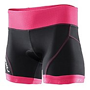 Womens 2XU Perform Low Rise Tri Fitted Shorts