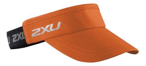 2XU Performance Visor Headwear - Orange/Black