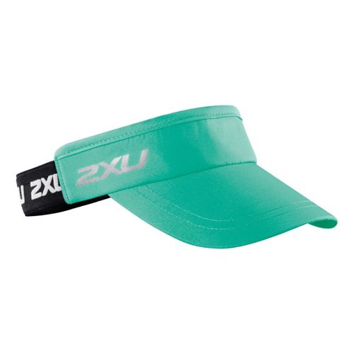2XU Performance Visor Headwear - Light Emerald/Black