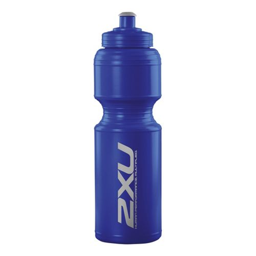 2XU Large Water Bottle Hydration - Nautic Blue/Nautic Blue