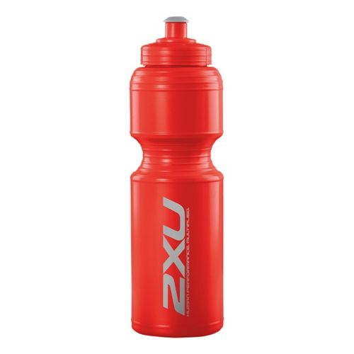2XU Large Water Bottle Hydration - Neon Red/Neon Red