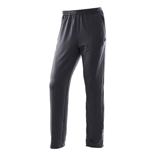 Mens 2XU Performance Track Full Length Pants - Black/Black L