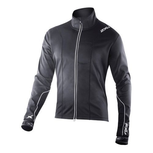 Mens 2XU G:2 Perform Outerwear Jackets - Black/Black L