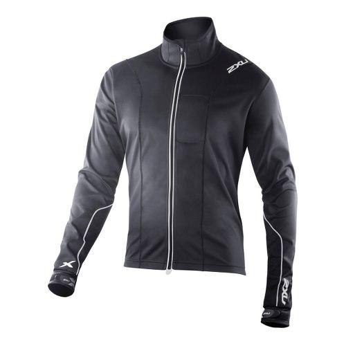 Mens 2XU G:2 Perform Outerwear Jackets - Black/Black XL