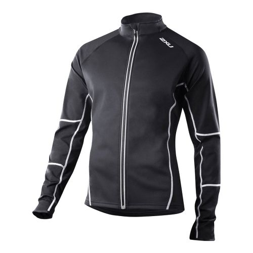 Mens 2XU G:2 Micro Thermal Outerwear Jackets - Black/Black XXL