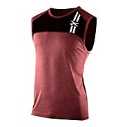 Mens 2XU Movement Singlets Technical Tops