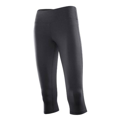 Womens 2XU 3/4 Form Fitted Tights - Black/Black XL