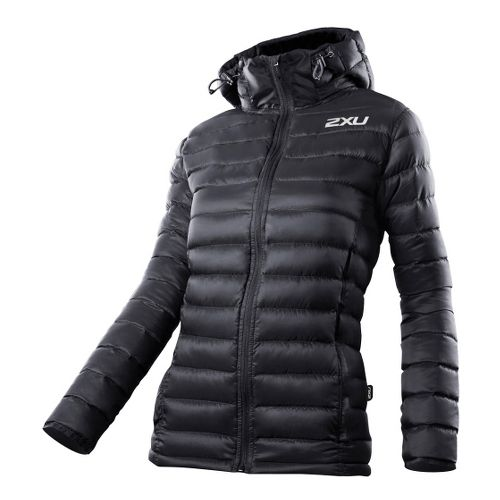 Womens 2XU G:2 Insulation Outerwear Jackets - Black/Black XS