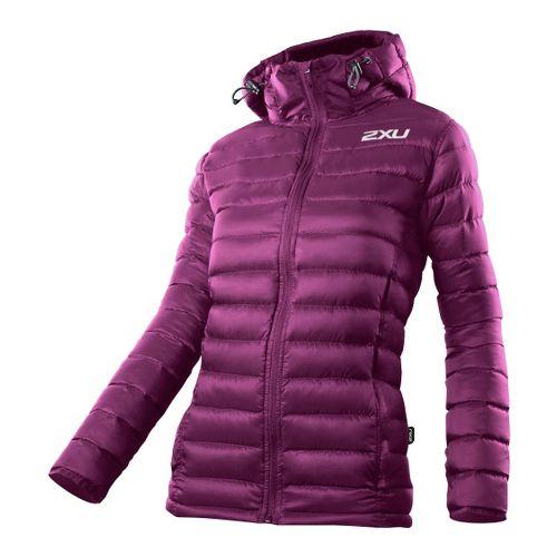 Womens 2XU G:2 Insulation Outerwear Jackets - Plum/Plum XS