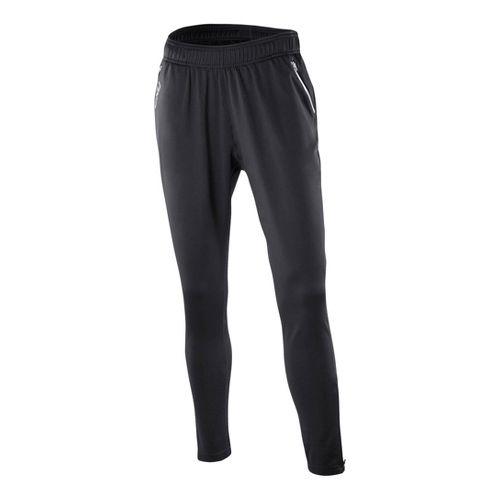 Womens 2XU Relaxed Fitness Full Length Pants - Black/Black L