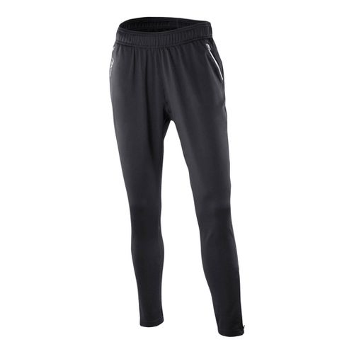 Womens 2XU Relaxed Fitness Full Length Pants - Black/Black M
