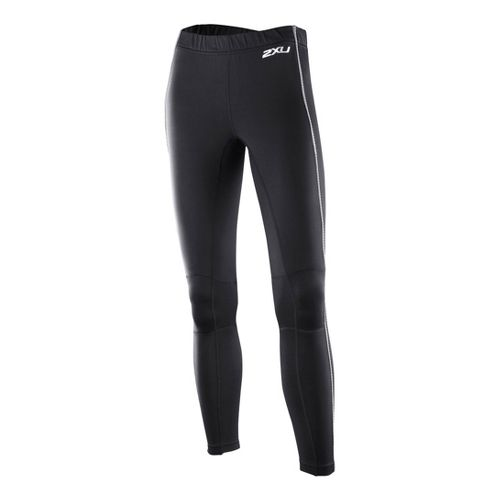 Womens 2XU G:2 Sub Zero Fitted Tights - Black/Black S