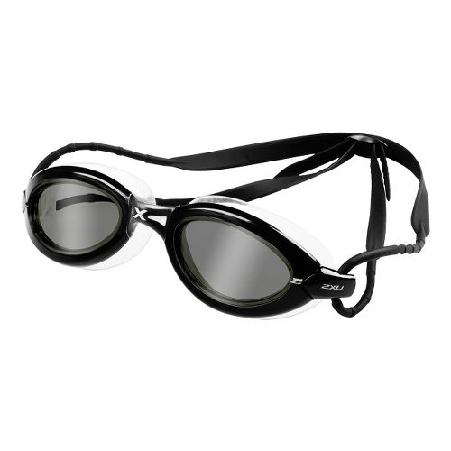 2XU Stealth Smoke Goggles Sunglasses - Black/Black