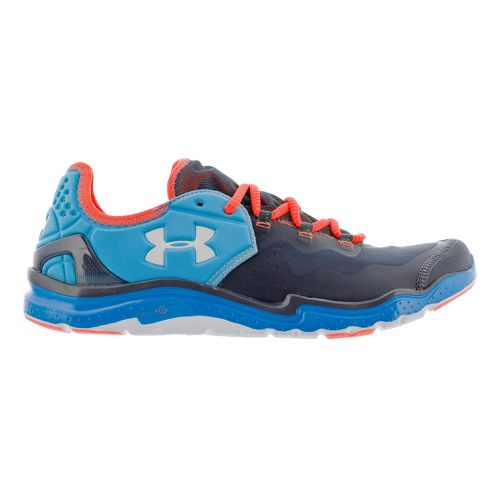 Mens Under Armour Charge RC 2 Running Shoe - Blue/Grey 10.5