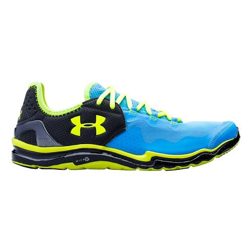 Mens Under Armour Charge RC 2 Running Shoe - Electric Blue 9.5