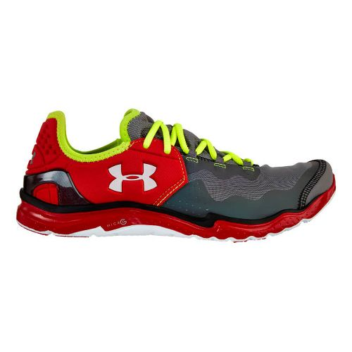 Mens Under Armour Charge RC 2 Running Shoe - Graphite 10.5