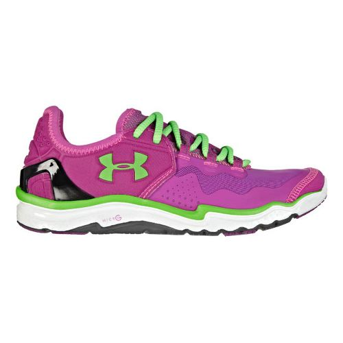 Womens Under Armour Charge RC 2 Running Shoe - Strobe/White 5