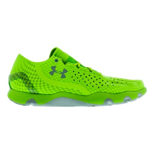 Mens Under Armour Speedform RC Running Shoe - Green 10.5