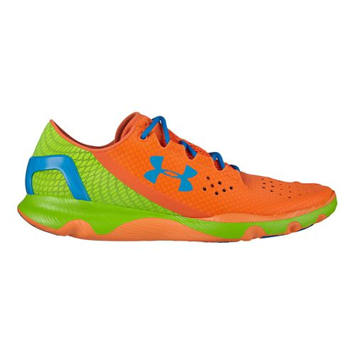 Mens Under Armour Speedform Apollo Running Shoe - Blaze Orange 7.5