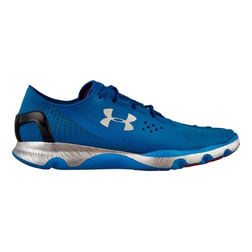 Mens Under Armour Speedform Apollo Running Shoe - Electric Blue 8.5