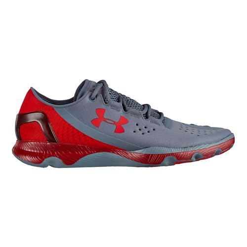 Mens Under Armour Speedform Apollo Running Shoe - Gravel 11.5