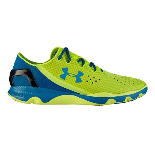 Mens Under Armour Speedform Apollo Running Shoe - Hi-Viz Yellow 15