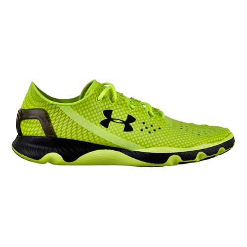 Mens Under Armour Speedform Apollo Running Shoe - Lime 7
