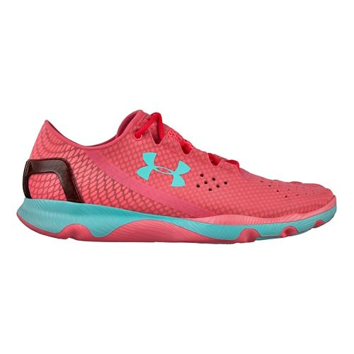 Womens Under Armour Speedform Apollo Running Shoe - Pink 6.5
