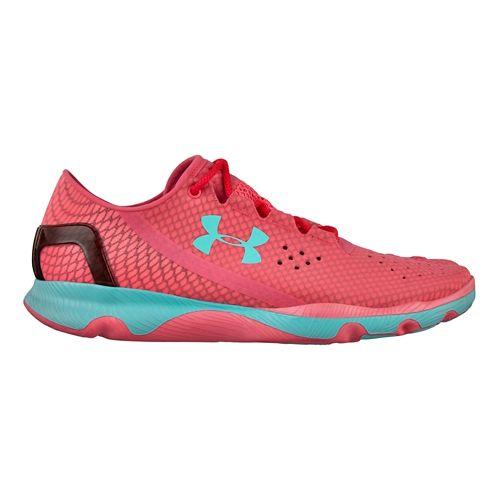 Womens Under Armour Speedform Apollo Running Shoe - Pink 8