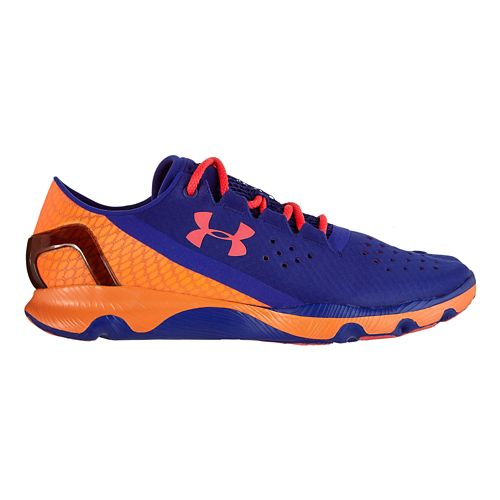 Womens Under Armour Speedform Apollo Running Shoe - Siberian Iris 7.5