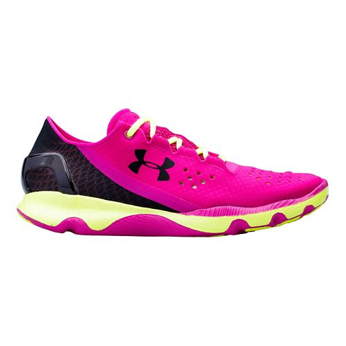 Womens Under Armour Speedform Apollo Running Shoe - Strobe 7