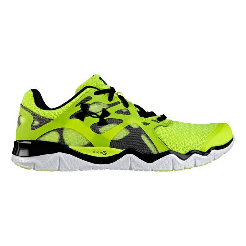 Mens Under Armour Micro G Monza NM Running Shoe - Bitter 9.5