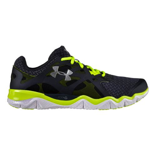 Mens Under Armour Micro G Monza NM Running Shoe - Lead 9.5