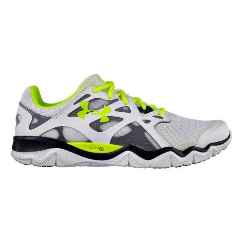 Mens Under Armour Micro G Monza NM Running Shoe - White 11
