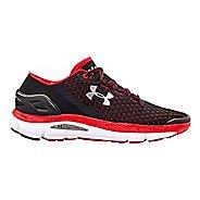 Mens Under Armour Speedform Gemini Running Shoe - Black/Red 11