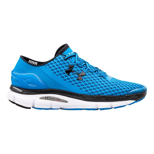 Mens Under Armour Speedform Gemini Running Shoe - Blue/Black 10.5