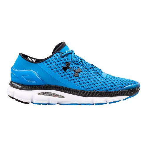 Mens Under Armour Speedform Gemini Running Shoe - Blue/Black 8.5