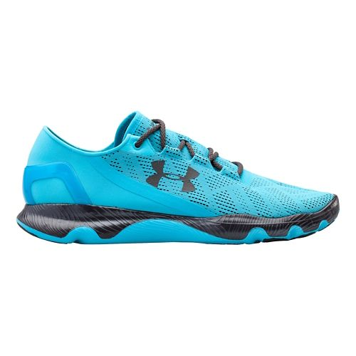 Mens Under Armour Speedform Apollo Vent Running Shoe - Island Blues 12.5