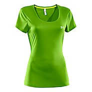 Womens Under Armour Heatgear Flyweight T Short Sleeve Technical Tops