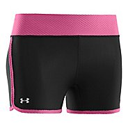 Womens Under Armour UA Fly-By Compression Fitted Shorts