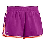 Womens Under Armour Great Escape II Perf Lined Shorts