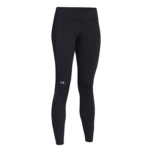 Womens Under Armour Coldgear Cozy Legging Fitted Tights - Black L