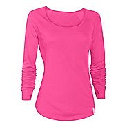 Womens Under Armour UA Fly-By Long Sleeve No Zip Technical Tops