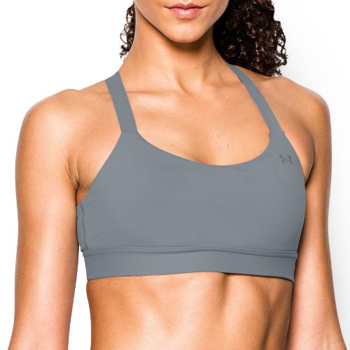 Womens Under Armour Eclipse Mid Bra Sports Bra - Steel L