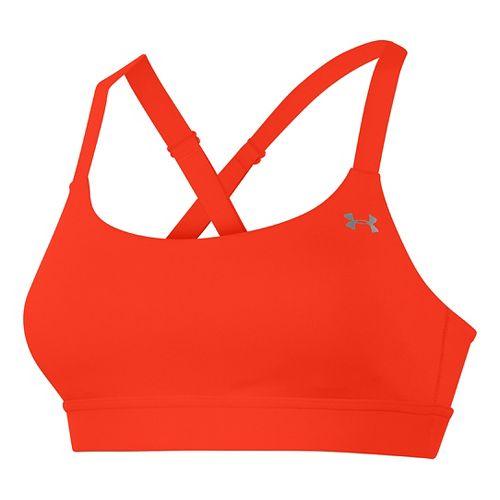 Womens Under Armour Eclipse Sports Bra - Dark Orange M