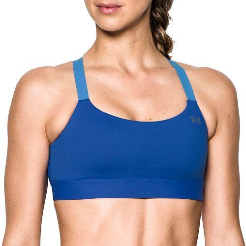 Womens Under Armour Eclipse Mid Bra Sports Bra - Lapis Blue M