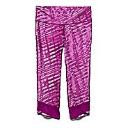 Womens Under Armour Fly-By Printed Capri Tights