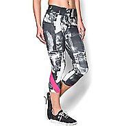 "Womens Under Armour Take-a-Chance Printed 20"" Capri Tights"