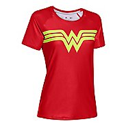 Womens Under Armour Alter Ego Heatgear Sonic Wonder Woman T Short Sleeve Technical Tops